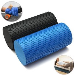 Wholesale Fitness Foam Roller Exercises - Women Yoga Exercise Blocks EVA Foam Crossfit Roller For Yoga Pilates Trainning Fitness Rollers With Trigger Points Muscle Relaxation