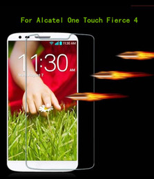 Wholesale Note Touch Screen Glass - For Alcatel One Touch Fierce 4 Metropcs For Alcatel Dawn 5027 A5027 For Samsung Galaxy note 7 J7 Tempered Glass Screen Protector Film