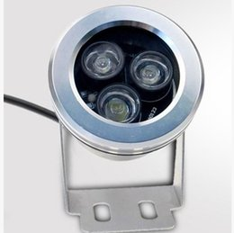 led par56 remoto Desconto Frete grátis À Prova D 'Água 3 W Ao Ar Livre de Alta Potência LEVOU Holofote Branco Quente Puro branco 12 V lâmpada led