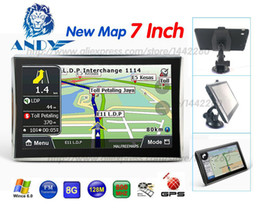 Wholesale Map Europe Russia - Oriana 7 inch HD Car Truck GPS Navigation 800M  FM 8GB 128MB Maps For Russia Belarus Kazakhstan Europe USA+Canada