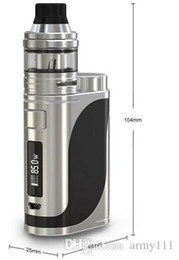 Wholesale Multi Sampling - Free sample !!! Eleaf newest 85w istick pico25 mod kit VS Dripbox starter kit with Subdrip Atomizer