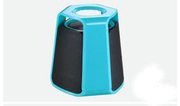 Wholesale Mp3 External - 2017 New creative bluetooth speaker portable speaker Fashion mini bluetooth speaker 5 colors Supports AUX external audio equipment Free DHL