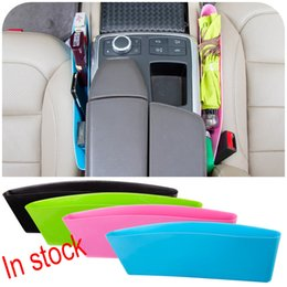Wholesale Office Wallets - Toughness Compressible Type Car Seat Crevice Debris Storage Box For Wallet Key Storage Box Seat Pocket Catcher XL-G245