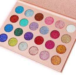 Argentina 2018 Nueva marca CLEOF Cosmetics Glitter Eyeshadow Palette 24 colores de maquillaje paleta de sombras de ojos DHL 660187 Suministro