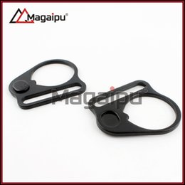 Wholesale Ar Sling Plate - Wholesale-Sling Plate Hook Sling gun accessories Adapter AR End Plate Mount for AR15 M4 M15 AK Free shipping
