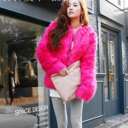 Wholesale Fur Imitation Vest - New Autumn Winter Fashion Imitation Fur Coat Fox Fur Coat Women Fur Jacket Plus Size Coat S M L XL