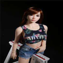 Wholesale Sex Pussy Asian - Silicone sex dolls MS 148cm Asian face realistic sex doll,full size love doll with oral anal pussy sex