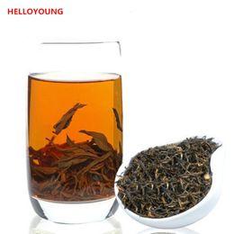 Wholesale Wuyi China - C-HC039 Chinese wuyi Jin jun mei 100g large congou black tea, Diuretic,Prevent hardening of the arteries,Beauty,China oolong,Greenfood