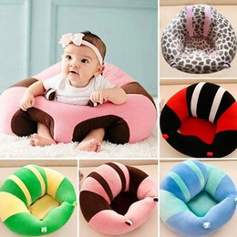 Wholesale baby sofa toys - Fasion Baby Learning To Sit Chair Baby Support Seat Sofa Plush Toys
