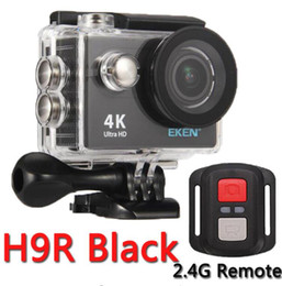 Wholesale Video Camera 4k - Action Camera eken H9R   H9 Ultra HD 4K WiFi Remote Control Sports Video Camcorder DVR DV go Waterproof pro Camera