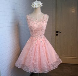 Wholesale Short Bubble Prom Dresses - 2016 New In Stock Wedding Dresses Bridesmaid Dresses Short Brief Paragraph Dress Host Dress Party Dress For Girls Bubble Skirt Free Shipping