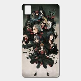 Wholesale Naruto Covers - High Quality Cell phone case For BQ Aquaris E5 E6 M5 X5 csae Naruto Akatsuki Shippuden Patterned Cover Shell Phone Case