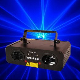 Wholesale Top Dj Lights - Top Selling HT-150 800mw Blue Stage Laser Light Blue Lighting Laser Party Stage Equipment Karaoke DJ Disco Dance Lights