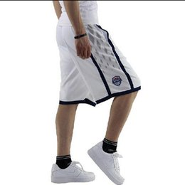 Wholesale Usa Team Basketball Shorts - Team USA Basketball Dream 10 teams shorts basketball pants loose large size men's pants