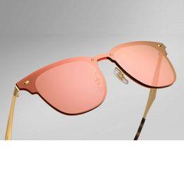 Wholesale Leather Framed Glasses - Newest Designer Club Fashion Sunglasses Men Sun Glasses Women Retro Green G15 Mercury lens New Hinge with Original Leather Box 357N