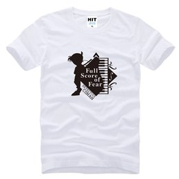 Wholesale Blue Detective - WISHCART Detective Conan piano Funny cartoon Mens Men T Shirt Tshirt Fashion 2016 New Short Sleeve Cotton T-shirt Tee Camisetas Hombre