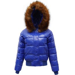 Wholesale Hair Duck - New bright face with thick cotton-padded clothes female heavy hair short winter brought down cotton-padded jacket han edition lovely coat qu