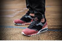 Wholesale Mens Winter Shoes Waterproof - 2016 Red color Running Shoes mens sneakers Balancers x Sneaker Freaker NB997.5 outdoor sports shoes 36-44