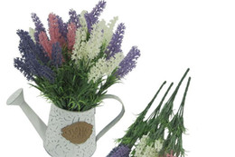 Deutschland Einzelne bunte Hochzeit gefälschte Blumen-Büro-Dekorations-Frühlings-Farbhaus und Gartentisch-Deko-künstliche Blumen-purpurrote Blumenwand Versorgung