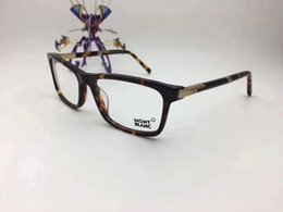 Wholesale finish designer - Wholesale-Italian Brand 540F Designer Designed Eyeglasses Frame Glasses Frame Male Matching Finished Flat Light Myopic Glasses Frame