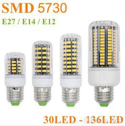 Wholesale Spot Luz - SMD5730 corn led E12 E14 E27  110-220V Bombillas led corn bulb Spot Luz Lampadas LED corn light for home lighting