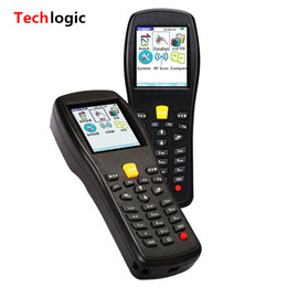 2019 barcode-scanner barcode-leser Großhandel-Techlogic X3 Wireless Barcode Scanner Inventar Barcodescanner Handheld-Terminal PDA Laser Barcodeleser Bar Code Gun günstig barcode-scanner barcode-leser
