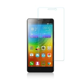 Wholesale Touch Screen Protection Film - Wholesale- 0.3mm LCD Tempered glass for Lenovo A5000 touch screen explosion protection film 9H hard 2.5D flim for lenovo A 5000 Super Saver
