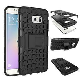 Wholesale S3 Mini Phone Cases - Combo Hybrid Case for SAMSUNG S3 S4 S5 S6 S7 EDGE Plus MINI Cell Phone Back Cover