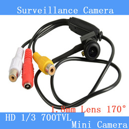 Wholesale security camera small - Pinhole Camera 1280 x 960 New Micro Camera HD 5MP Mini CCTV Security Video surveilance Micro 700TVL Smallest Camera Wide Angle Fish lens