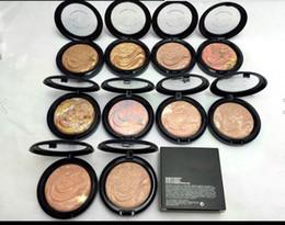 Wholesale Women Professional Wear - Hot Sale Bronzer Blush Palette Face Makeup Baked Powder Blusher Professional Brand beauty Women 60pcs lot wholesale