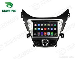 Wholesale Hyundai Elantra Car Dvd - Quad Core 1024*600 HD Screen Android 5.1 Car DVD GPS Navigation Player for Hyundai Elantra Avante I35 2011-2013 with Radio 3G Wifi