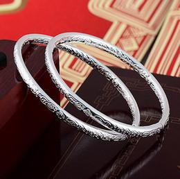 Brazaletes tibetanos online-Bohemia de moda 925 pulseras plateadas de la joyería para las mujeres del amor tibetano encantos de la boda brazalete pulsera de calidad superior grado regalo de navidad