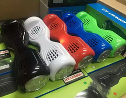 Wholesale Mp3 Car Wheel - Vogue H7 Balance Car Mini Bluetooth Speaker Scooter Portable Stereo Wireless Twisting Balancing Wheel Hoverboard TF USB Handsfree MP3 Player