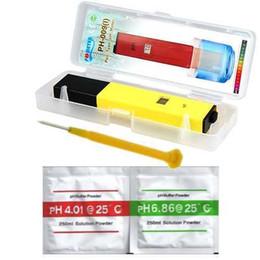 Ph mètres de type stylo en Ligne-PH-009 0.0 ~ 14.0 Température de calibrage automatique ACT Mini-testeur de pH de haute précision pour aquarium