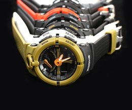 Wholesale Led Pointer Watch Mens - AAA Top quality ALL pointer work mens LED G watches Hiking sports ga500 110 watches Original Box