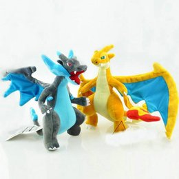 Wholesale Evolution X - 100PCS XMAS Poke Plush Mon Doll Stuffed Toy Mega Evolution X Y Charizard Soft Stuffed Plush Doll 23-25cm Cartoon Stuffed Animals CCA4632