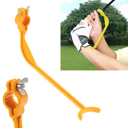 Wholesale Child Swings - Golf Plane Swing Trainer Educational Practice Guide Beginner Gesture Alignment Child Adult Golf Club Correct Wrist Training Aid Tools