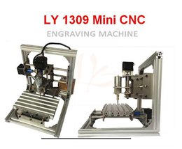 Wholesale Dc Spindle Cnc - LY 1309 Mini CNC Engraving Machine DC spindle 5W 3.175mm drill tip compatible