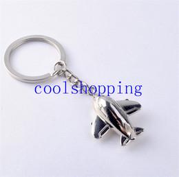 Wholesale Plane Keyrings - Civil Aviation Air Plane Metal Alloy Keychain Keyfob Keyring Gift