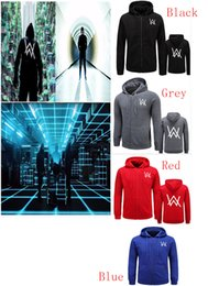 Wholesale Dj Jacket - 2017Mens Hoodies Sweatshirts Music DJ Comedy Alan Walker Hip Hop Hoodie Jacket Men Clothes Fashion Hooded Hombre