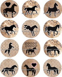 Wholesale Horses Music - Free shipping HORSE Snap button Jewelry Charm Popper for Snap Jewelry good quality 12pcs   lot Gl265 jewelry making