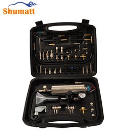 Wholesale Injector System - Universal Automotive Air Intake Non-Dismantle Fuel System Cleaner Auto gasonline Injector Clean tool For Petrol Cars GX100 FS200