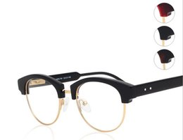 Wholesale Eyewear For Computer - Brand Glasses-2016 Fashion Brand New TB 807 Eyeglasses Frames THOM Glasses For Men Women Computer Optical Half-Frame Glasses TB-807C eyewear