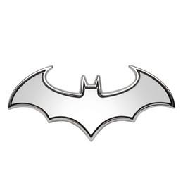 Autocollants de voiture 3D Cool Bat Metal Auto Logo Batman Badge Emblème Queue Stickers Auto Décoration Accessoires Car-style ? partir de fabricateur