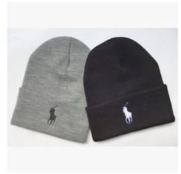 Wholesale Cowboy Church Caps Wholesale - high quality brand Luxury design Winter Hats for Men women Knitted Beanie Wool Hat Man Knit Bonnet Beanies Gorros Warm Cap