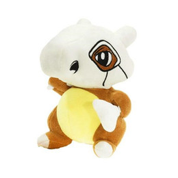 Wholesale Large Stuff Wholesale Animals - 11.5inch Cubone Poke Stuffed Animals Soft Large Anime Stuffed Plush Toy Kawaii Cute Cartoon Toy for Kid Christmas Toys