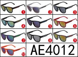 Wholesale Sports Sunglasses Folding - Hot Sale Europe and United States style Folding sunglasses Dazzle colour mirror surface sunglasses AE4012