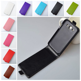 Wholesale Skin Galaxy Duos - Wholesale-Top quality PU leather PC hard case For Samsung Galaxy Win i8550 Duos I8552 8552 GT-i8552 i8558 Cover Skin Flip Phone Bag