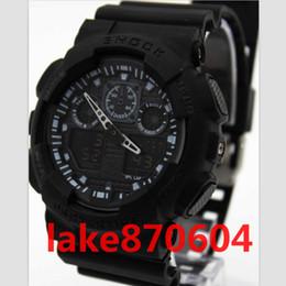 Wholesale g shock watch wholesale - 2017 luxury brand watch G New Men's Brand Luxury Style Shock Relogio Masculion Sports Analog&Digital Black Fashion LED Reloj Hombre