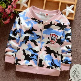 Wholesale Male Infant Clothes - Camouflage cardigan New pattern Male and female children The infant child cardigan Baby coat Mixed cotton clothing Wholesale sales